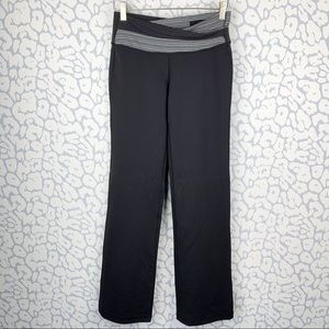 Lululemon Astro Black/white waist pants leggings 6